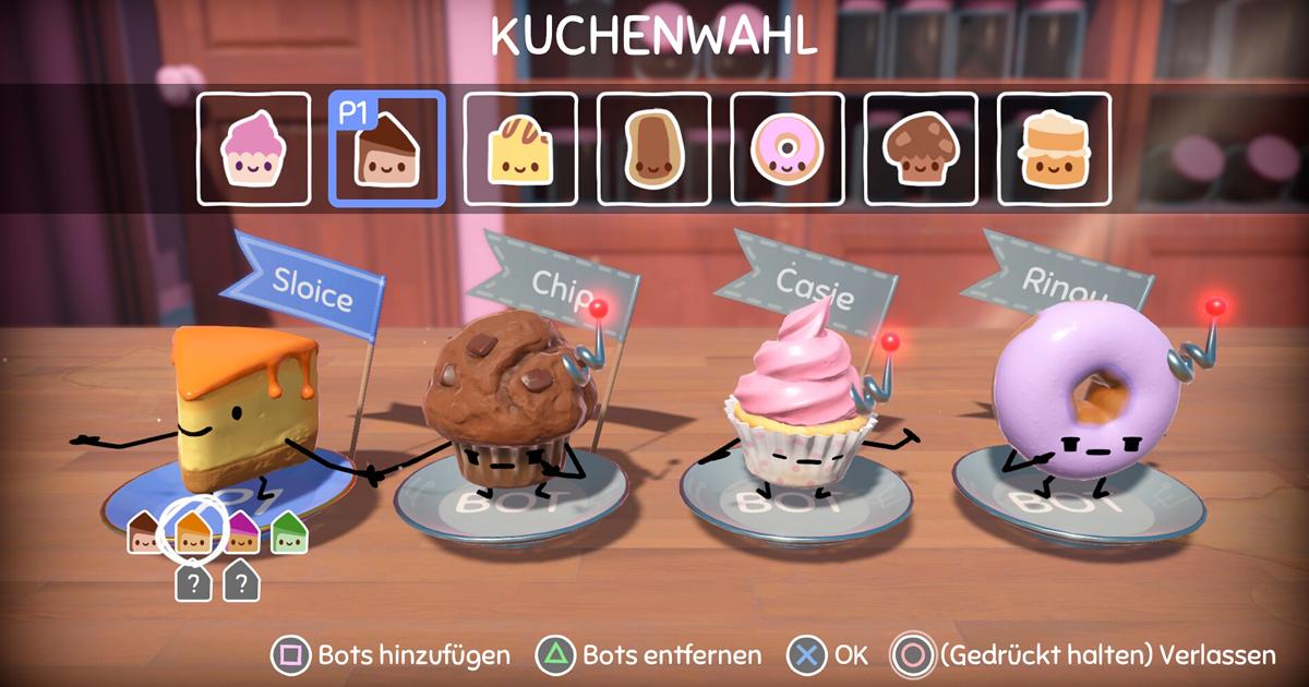 Cake Bash - Kuchenwahl