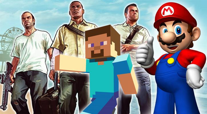 Das sind die 10 erfolgreichsten Videospiele
