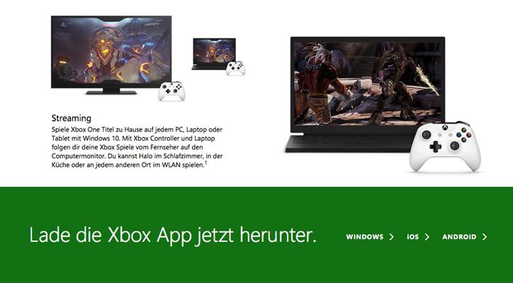 Xbox App runterladen