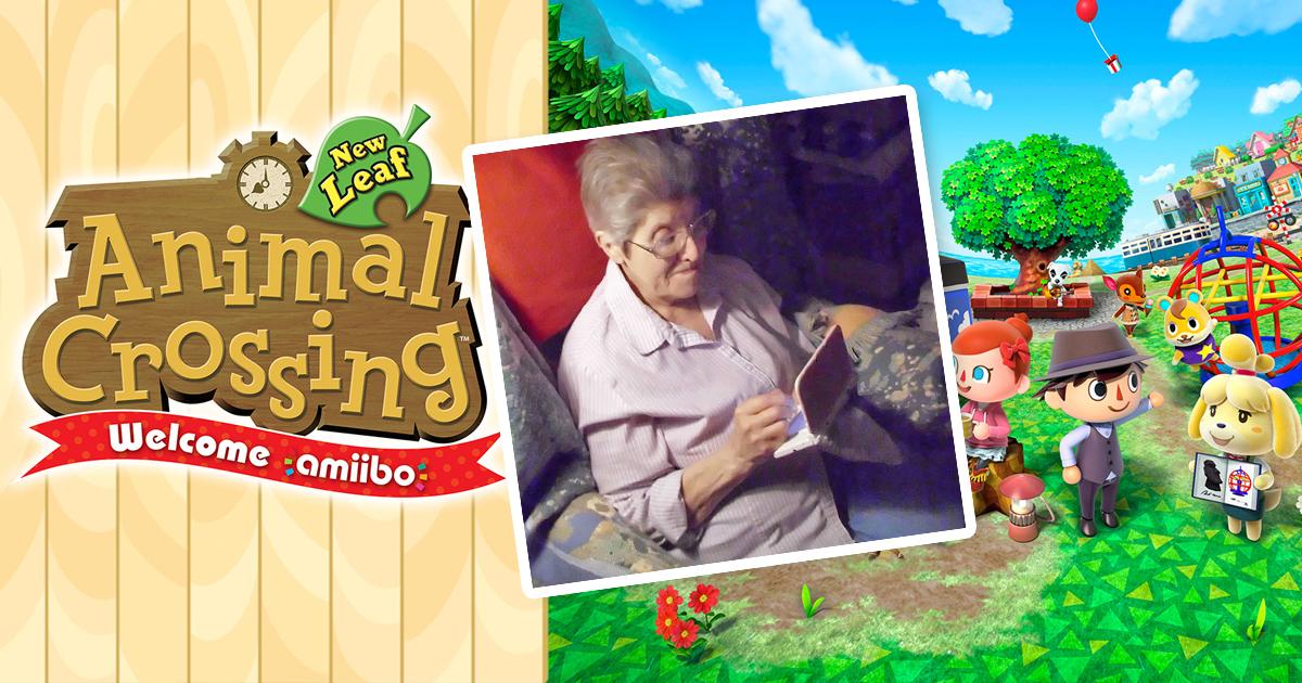 Animal Crossing New Leaf Diese Oma Spielte über 3500 Stunden