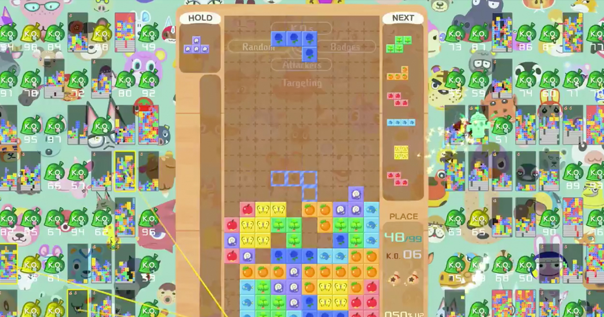 Zockerpuls - Animal Crossing und Tetris Crossover-Event auf Nintendo Switch - Animal Crossing New Horizons Design