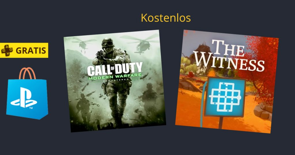 Zockerpuls - Call of Duty - Modern Warfare Remaster und The Witness gratis zum Download