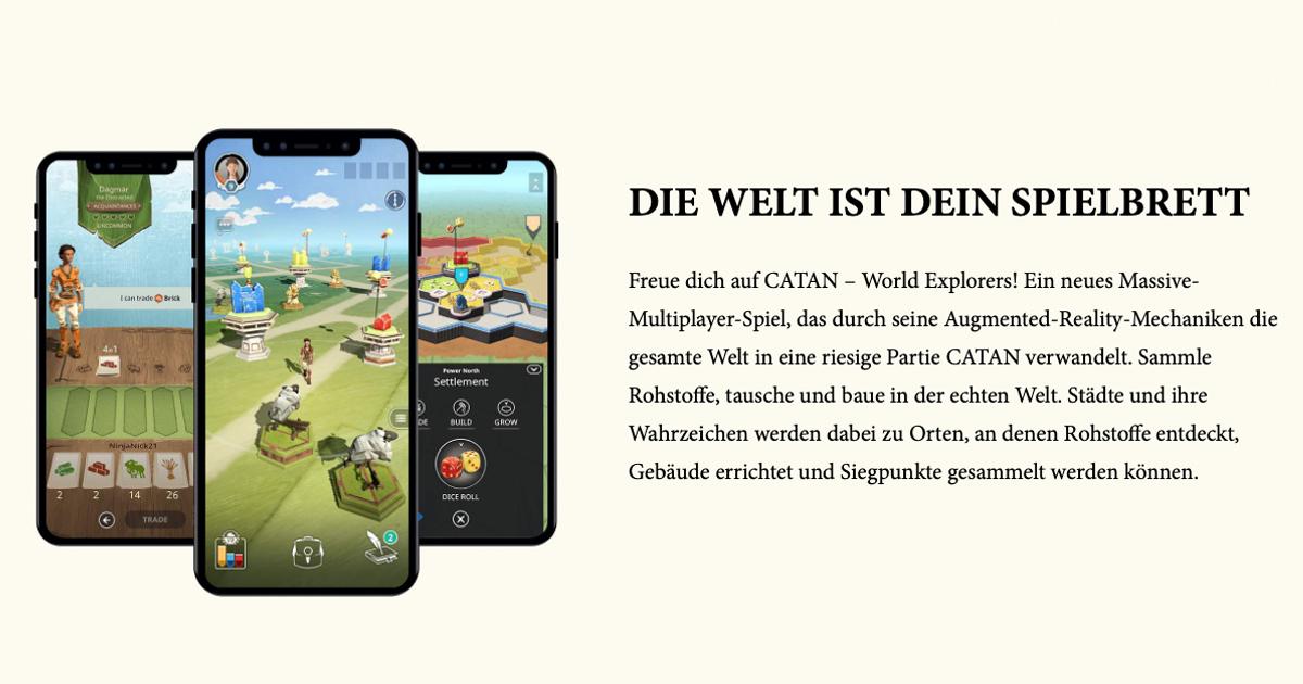 Zockerpuls - Catan- World Explorers - Deutsches Kult-Brettspiel wird zu AR-Game - Screenshots