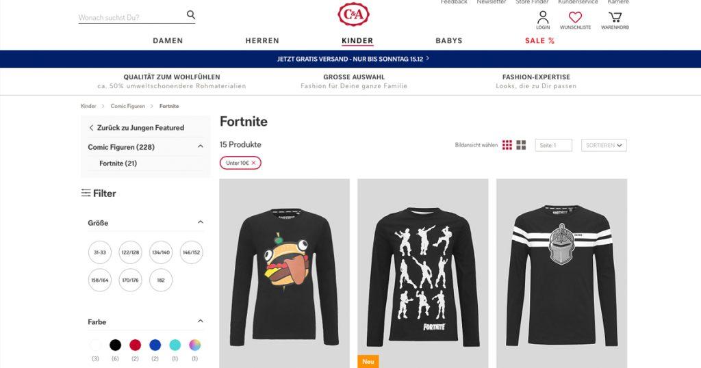 Zockerpuls - Darum hassen C&A-Angestellte die Minty Spitzhacke aus Fortnite - Online Shop