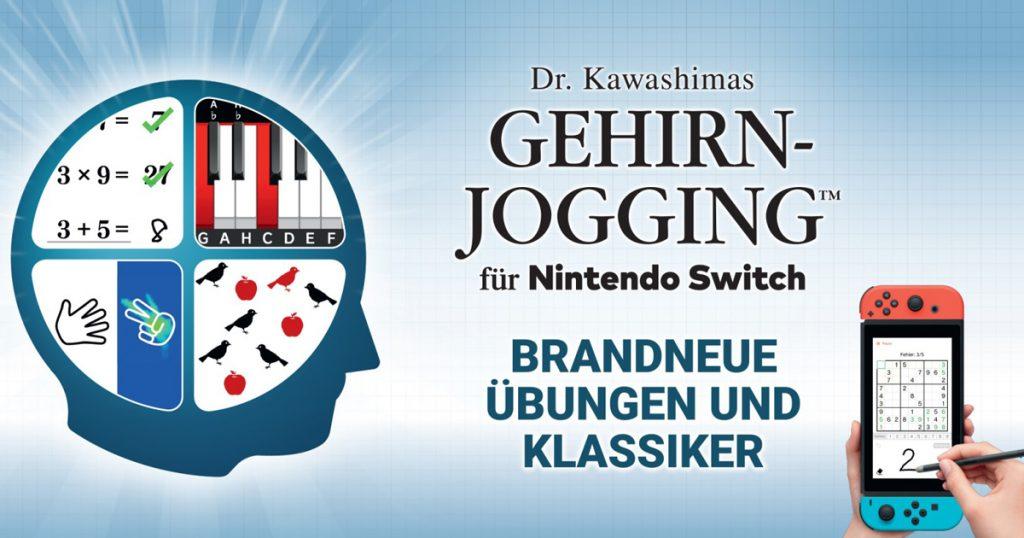 Zockerpuls - Dr. Kawashimas Gehirn-Jogging- DS-Klassiker neu für Nintendo Switch