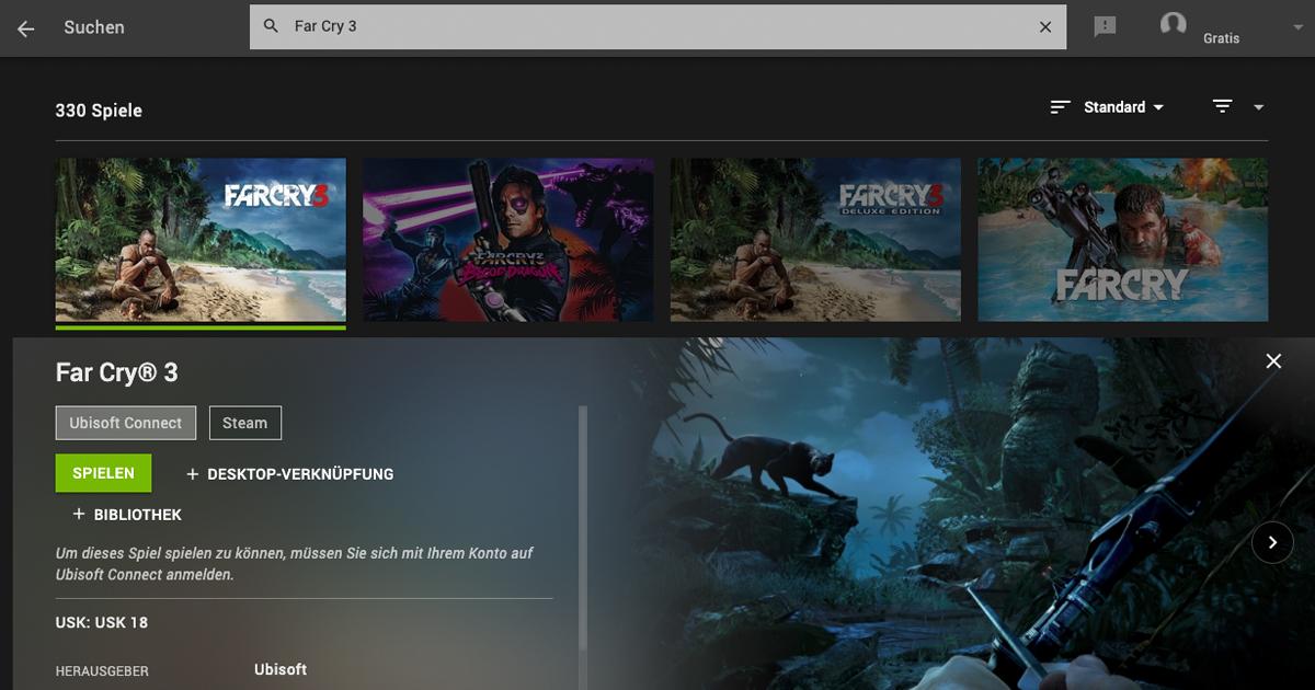 Zockerpuls - Far Cry 3- Schnell sein und kostenlos in der Cloud zocken - Geforce Now Screenshot