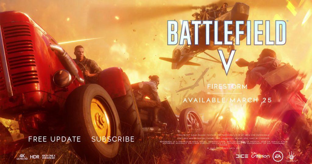 Zockerpuls - Firestorm- Neuer Trailer zeigt Release-Datum für Battle Royale in Battlefield V
