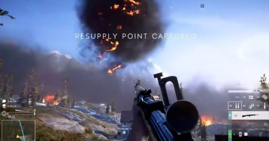 Zockerpuls - Firestorm- So spielt sich der Battle Royale-Modus in Battlfield V - Resupply Point Captuared