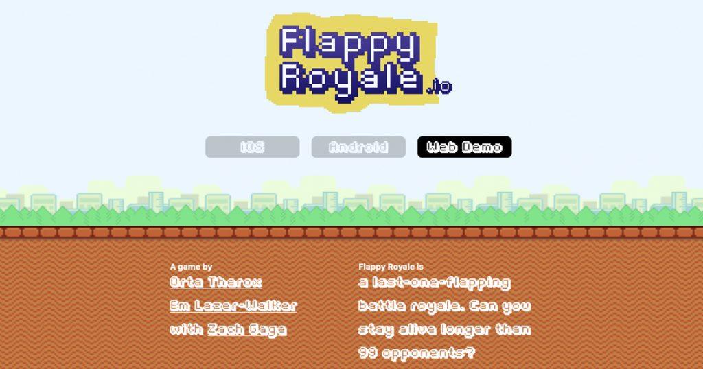 Flappy Bird als Battle Royale-Variante