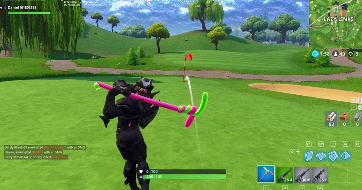 nackt golf spielen