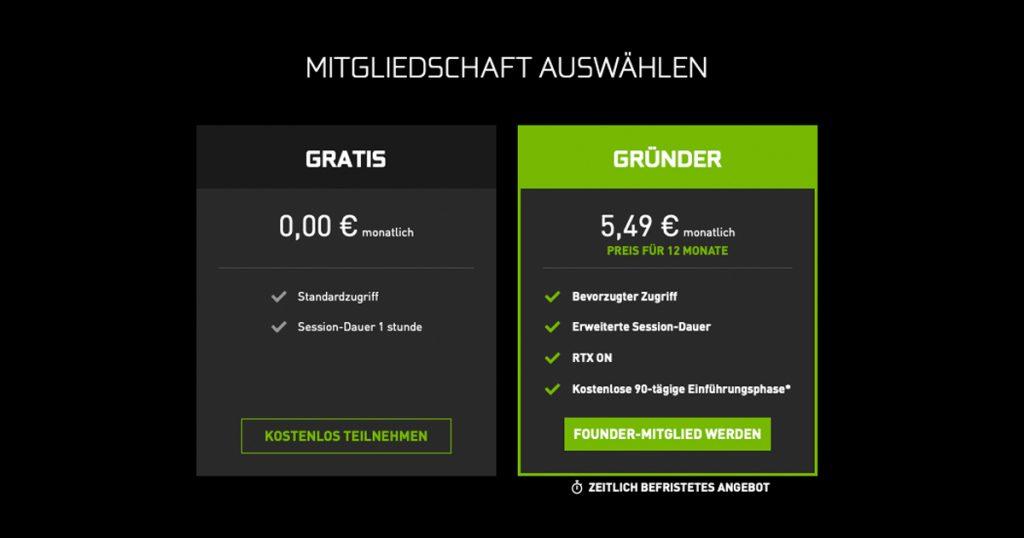 Zockerpuls - GeForce NOW- Nvidia startet Rivalen zu Google Stadia und PS Now - Preise