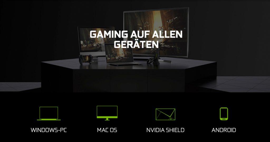 Zockerpuls - GeForce NOW Review - Nvidias Cloud Gaming-Dienst im Test - Geräte
