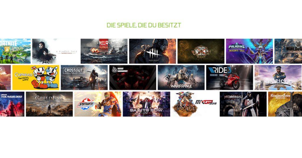 Zockerpuls - GeForce NOW Review - Nvidias Cloud Gaming-Dienst im Test - Spiele