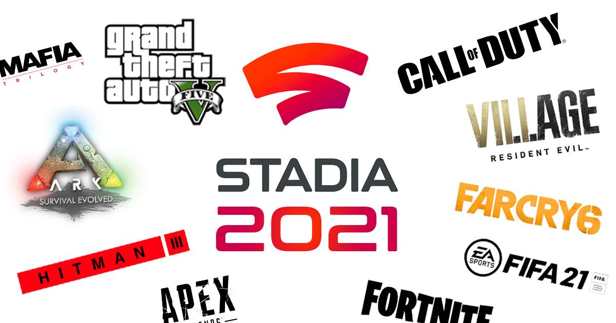 Zockerpuls - Google Stadia Spiele 2021- Alle bestätigten Games und Gerüchte