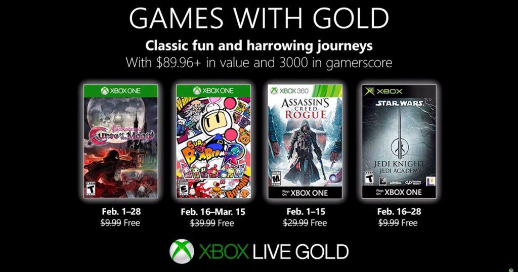 Zockerpuls - Im Februar 2019 Games with Gold