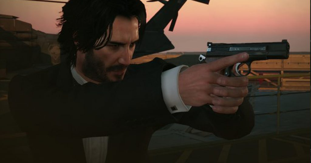 Zockerpuls - Keanu Reeves als Big Boss in Metal Gear Solid 5- The Phantom Pain - John Wick