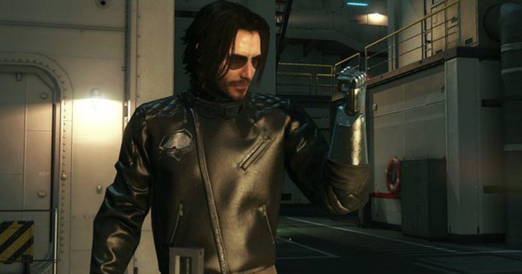 Zockerpuls - Keanu Reeves als Big Boss in Metal Gear Solid 5- The Phantom Pain - Johnny Silverhand