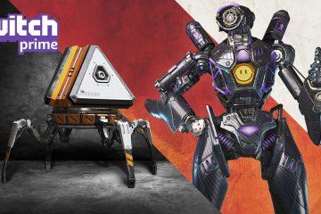 Zockerpuls - Kostenloser Omega Pathfinder-Skin in Apex Legends über Twitch-Prime