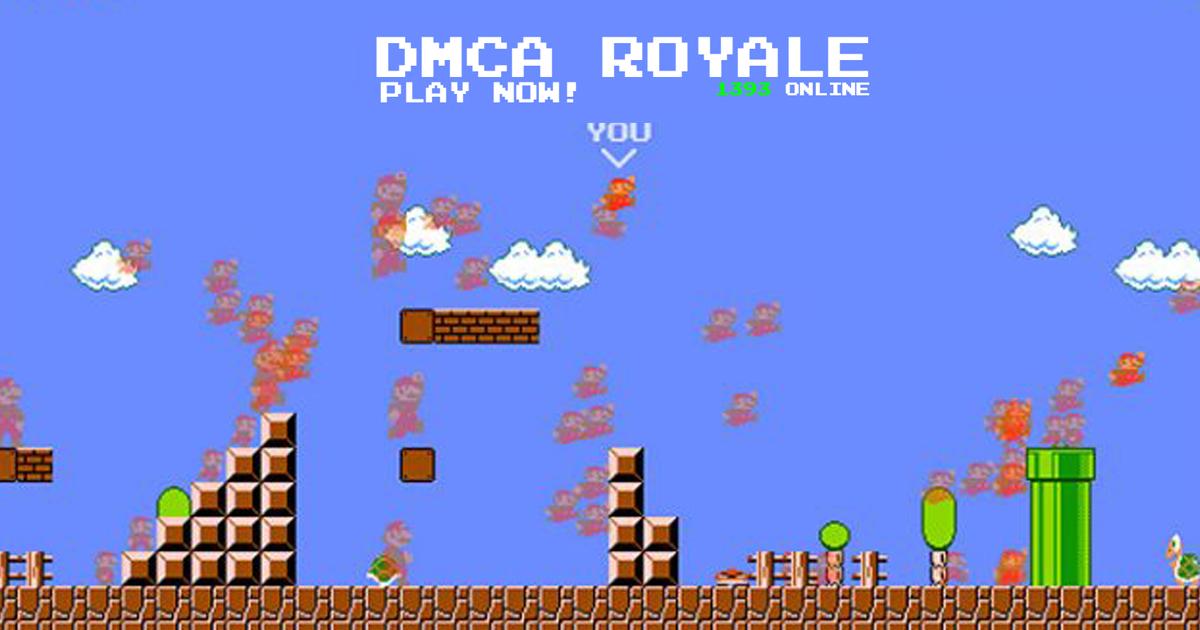 Zockerpuls - Mario Royale aus Angst vor Nintendo in DMCA Royale umbenannt