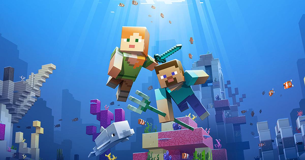 Minecraft Update Bringt Meeresschildkröten Und Wasserzombies
