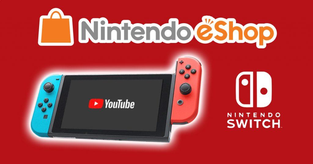 Zockerpuls - Nintendo Switch YouTube-App steht jetzt zum Download bereit