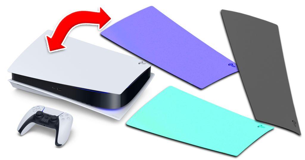 Zockerpuls - PlayStation 5-Cover könnte sich easy austauschen lassen