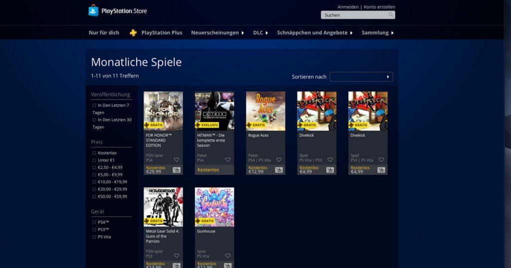 Zockerpuls - PlayStation Plus Games für Februar 2019 stehen zum Download bereit