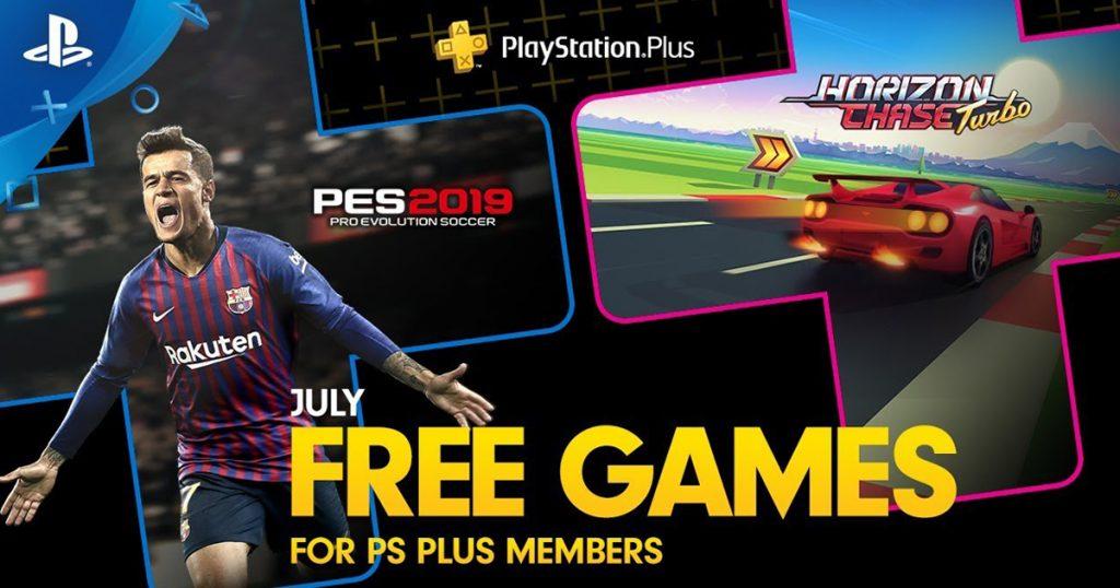 Zockerpuls - PlayStation Plus Spiele Juli 2019- Pro Evolution Soccer und Horizon Chase Turbo