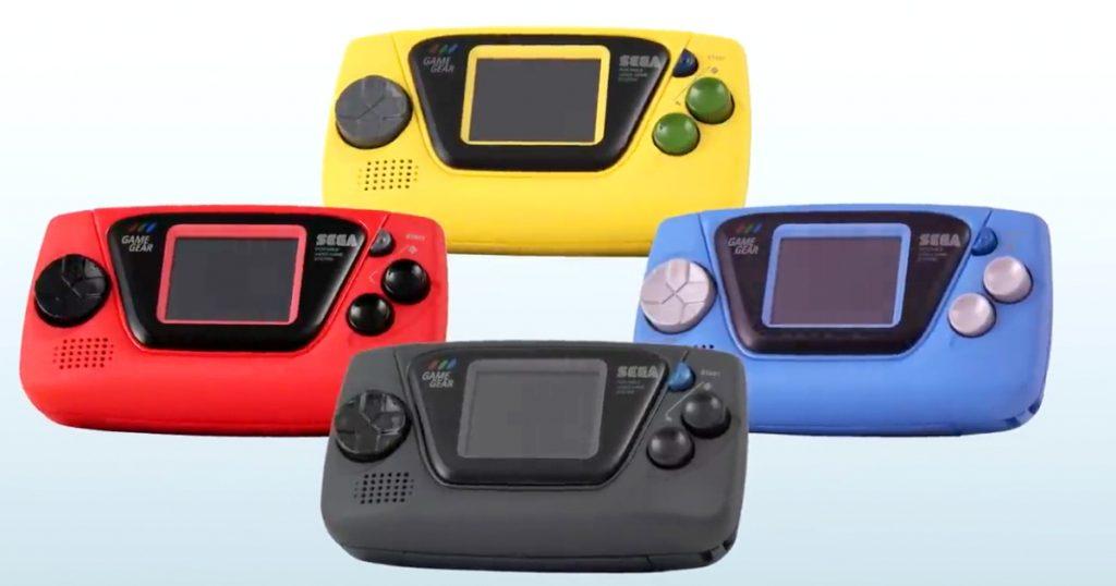 Zockerpuls - Sega Game Gear Micro - Mini-Version mit vorinstallierten Spielen angekündigt - Farben