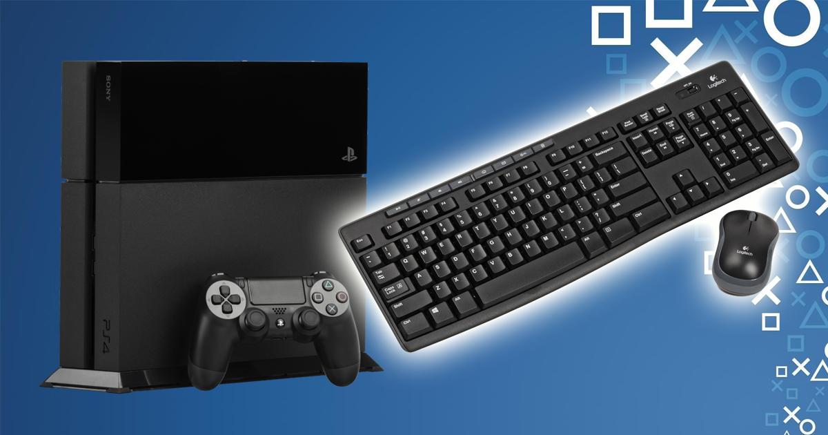 So Kannst Du Deine Playstation 4 Mit Tastatur Und Maus Benutzen