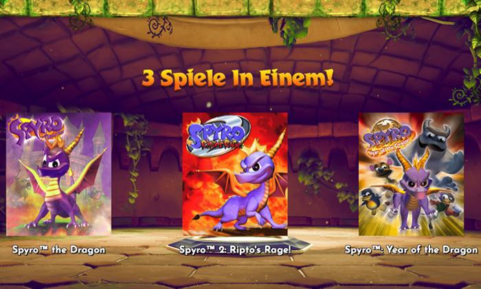 Zockerpuls - Spyro Reignited Trilogy- Drachen-Action in HD-Auflösung - 3 Spiele in 1