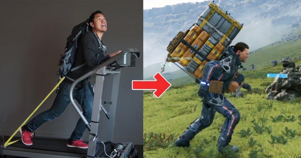 Zockerpuls - Verrückter Typ baut Laufband zum Controller für Death Stranding um