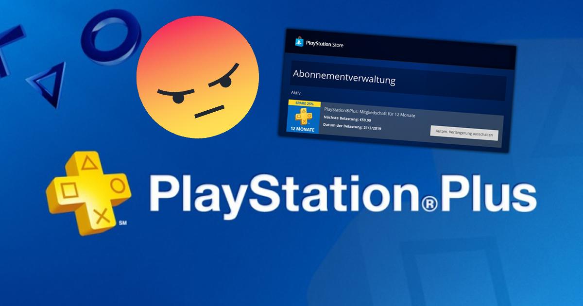 Vorsicht Vor Ungewollter Playstation Plus Abo Verlängerung