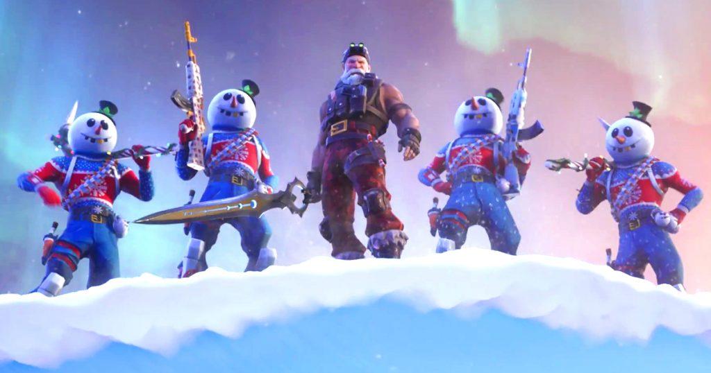 Zockerpuls - Kommando-Weihnachtsmann mit Infinity-Blade in Fortnite