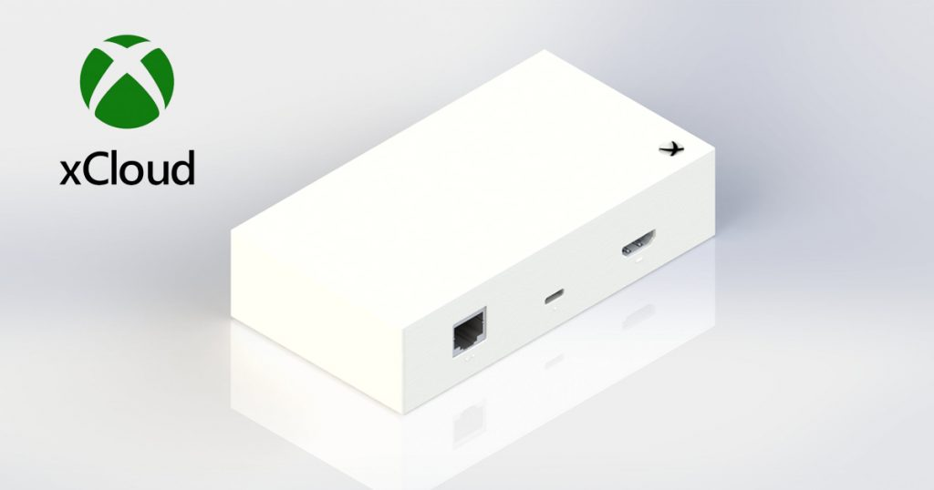 Zockerpuls - Xbox Stream Box- Leaker zeigt Prototyp für xCloud Gaming - Rückseite