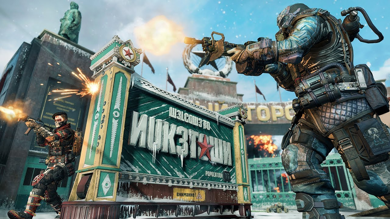 Call Of Duty Black Ops 4 Ps4 Spieler Bekommen Nuketown